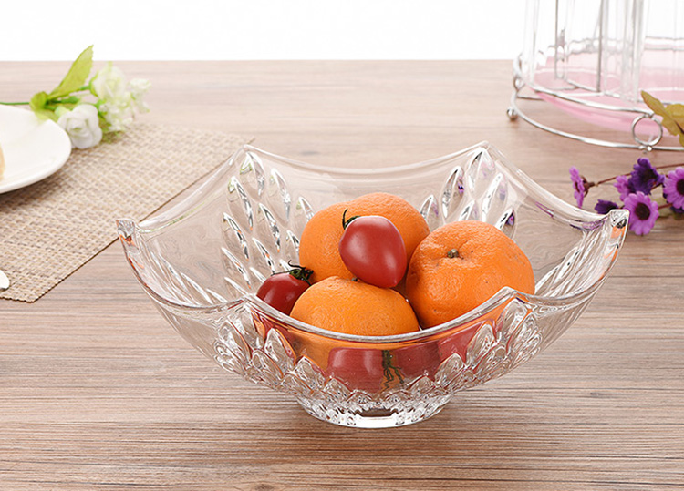 Wholesale crystal glass sing bowl
