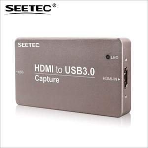 Full HD video quality true HDMI digital connections live streaming usb 3 capture card