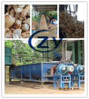full set stainless steel cassava flour / garii /fufu production line