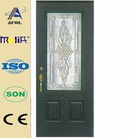 AFOL Top Quality Commercial Security Glass insert Exterior Door