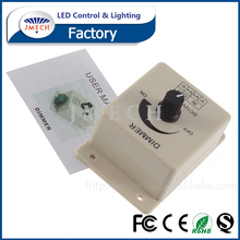 12V 24V 8A 96W Knob rotary LED Dimmer Switch controller for Strips, Modules, Ribbon lights,Tape lamp
