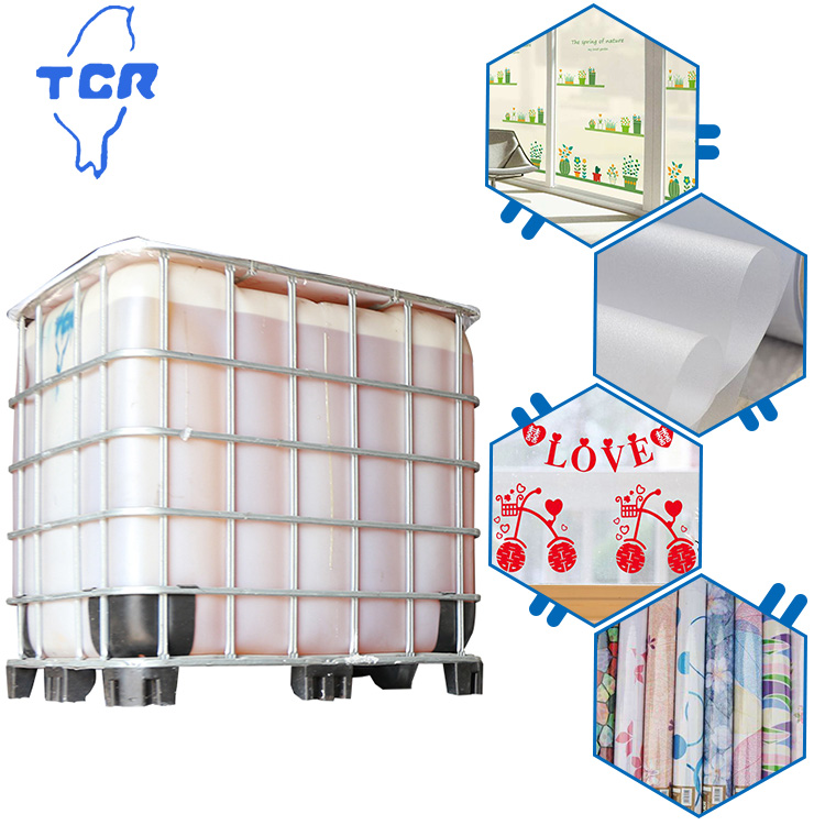 Free Sample TCR adhesive High Transparency After Film Form acrylic pressure sensitive adhesive