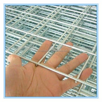 Galvanized square hole welded wire mesh panel