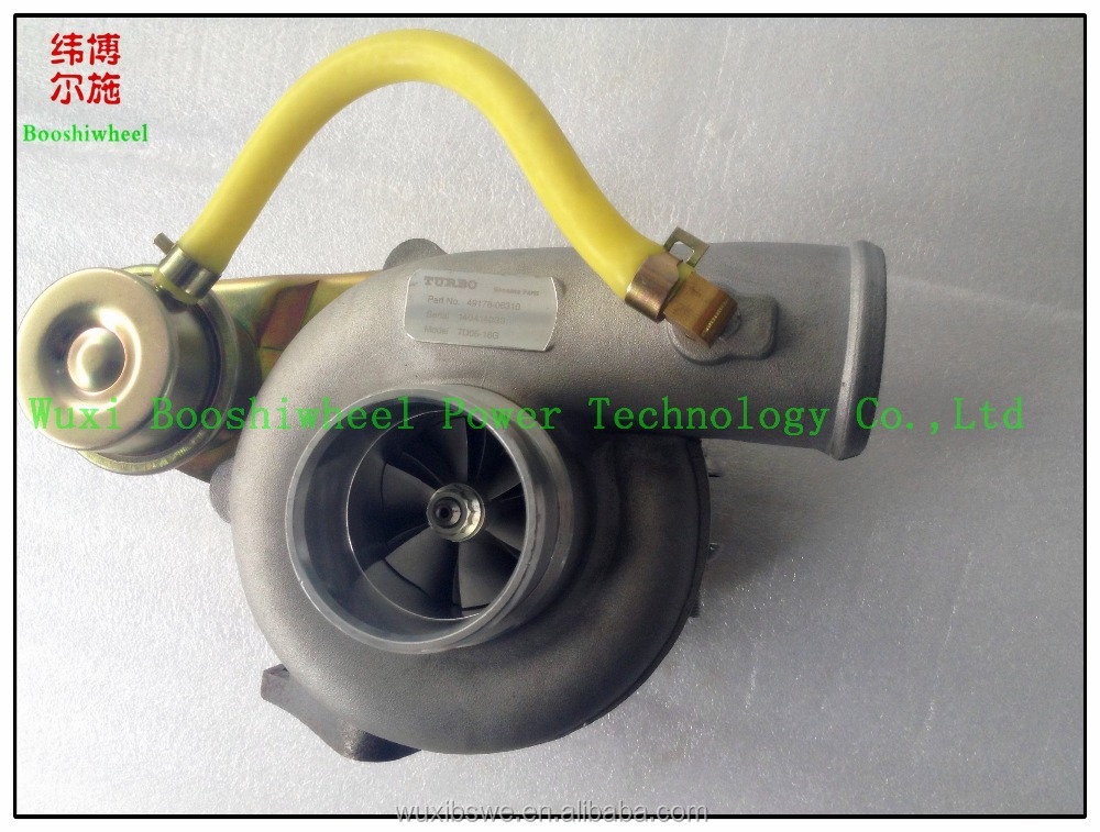 Hot sale TD05-16G Turbo 49178-06310 14412AA092 14412-AA092 turbocharger engine spare parts from China Manufacturer