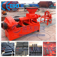 Large handling capacity coal powder briquette extruder machine
