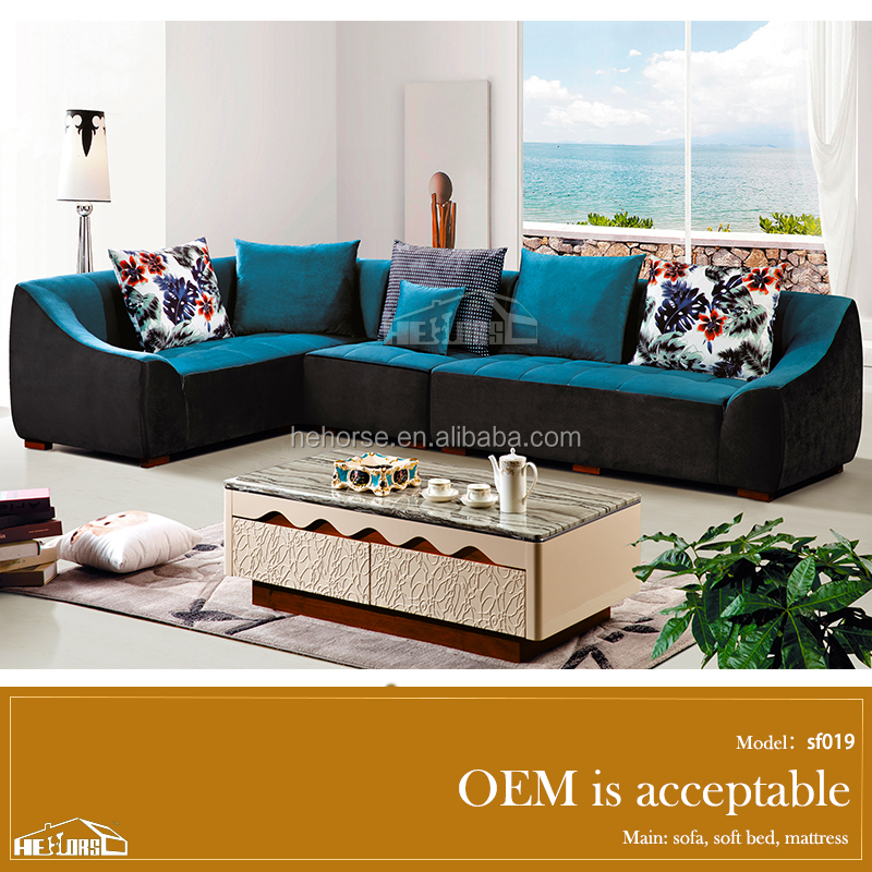 Superbe Living Room Furniture Wooden Two Color Sofa Sf019#   Buy Two Color Sofa,Wooden  Sofa Set Furniture,Furniture Sofa Prices Product On Alibaba.com