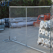 Alibaba best price temporary chain link fence/temporary wire mesh fence feet for USA market