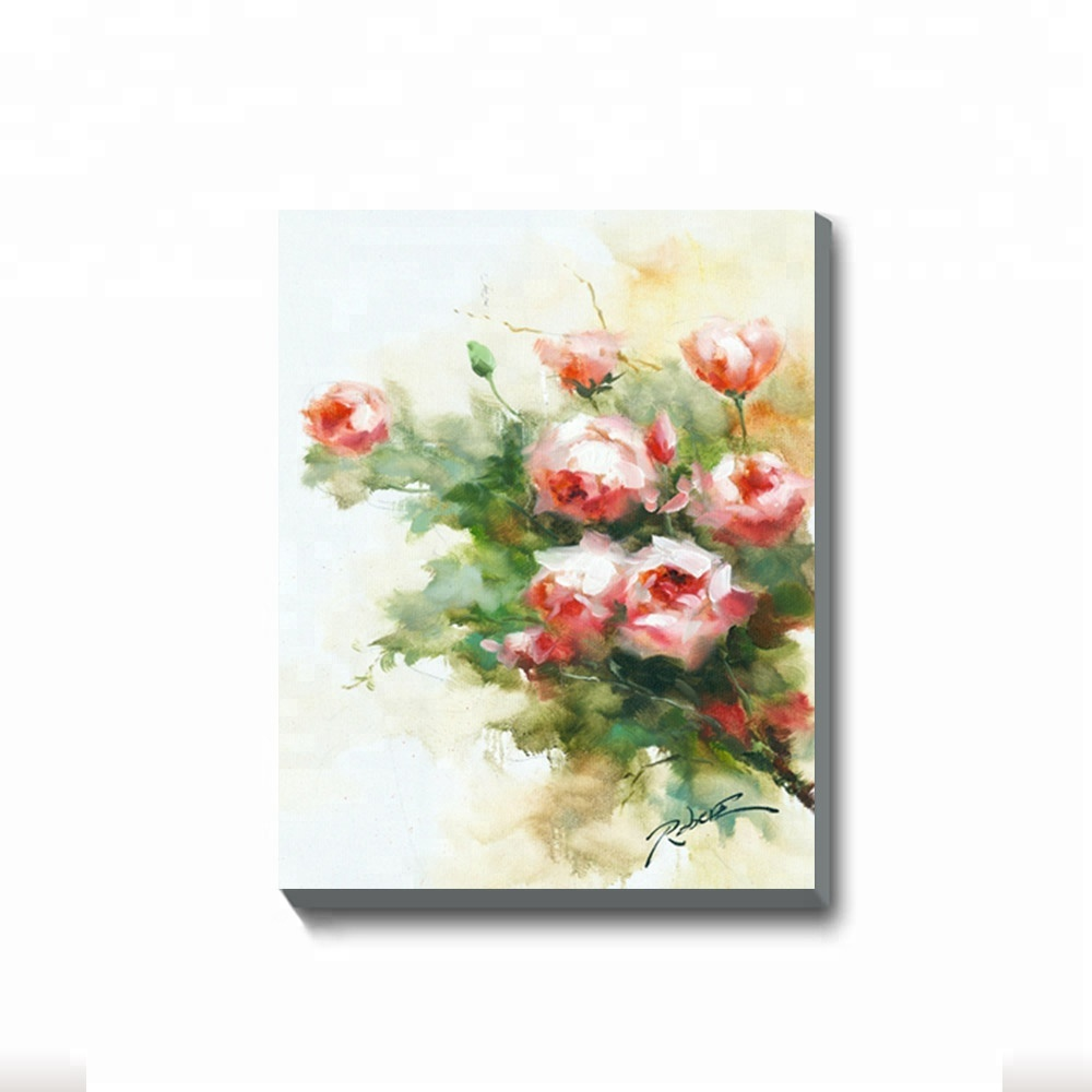 Hot Hand Wall <strong>Art</strong> Rose Pop Pictures Painted Painting Flowers