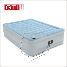 Top Flocked Air Bed Mattress,easy inflatable flocked air bed