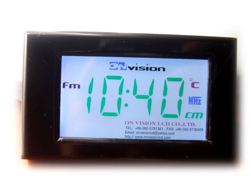 Fsc 7 segment colour LCD display