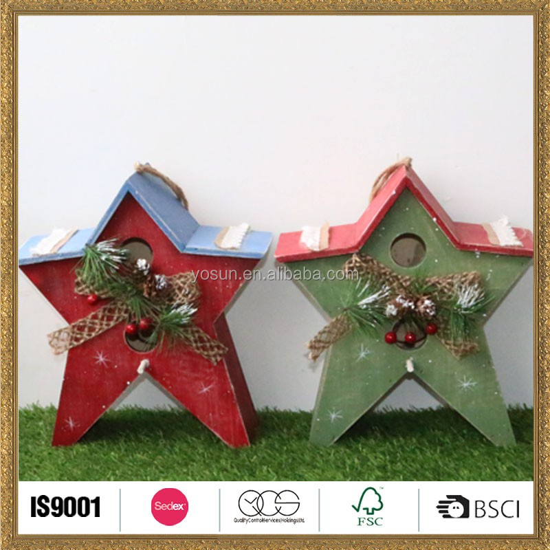 home wholesale Christmas twins star hanging