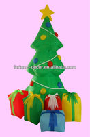 150cmH/4ft Inflatable Christmas decoration Christmas Tree with gifts