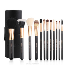 custom logo makeup brushes for women gift make up brushes with barrel