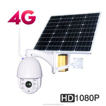 3G 4G Solar WIFI PTZ Outdoor Camera 1080p 128G TF card 5X Optical Zoom Focus 2.7-13.5mm Night Vision Motion Detection 2 Way Aud