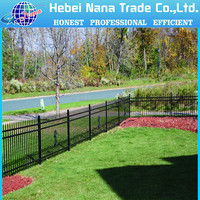 Professional manufacturer of Hot sale type color design outdoor fence