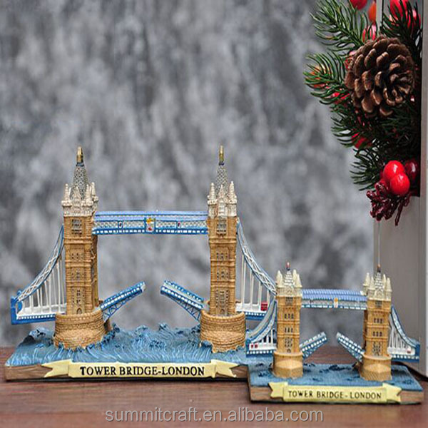London bridge 3d building model resin london souvenirs