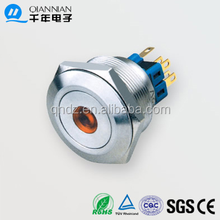 QN28-A2 28MM on/off stainless steel switch
