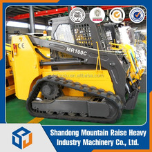 Crawler type model MR100C cheap chinese 1.2ton skid steer loader