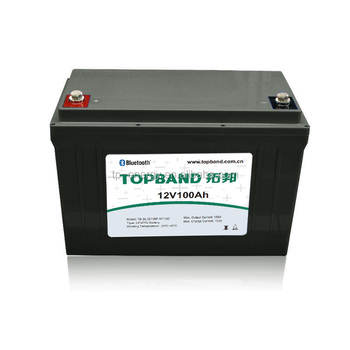 Lithium Battery 12V 100Ah Rechargeable Battery for RV/Caravan/EV/UPS/Golf Cart/Energy Storage/Solar System