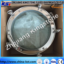 stainless steel round manhole cover