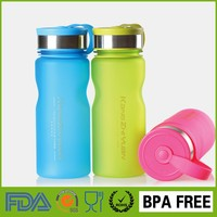 600ml Wide Mouth Travel Cups Sports Plastic Drinking Water Bottles