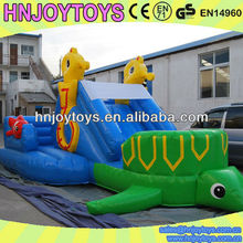 Durable and thick pvc residential inflatable slide, Finding nemo, water bouncy castle