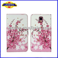 Pink Plum leather wallet case for Samsung Galaxy Note 3 N9000, Galaxy Note 3 Case
