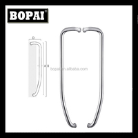 tuble door pull handle of stainless steel from Foshan BOPAI factory