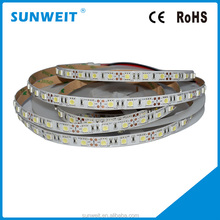 5050SMD 60led strip 12v CW IP20 with CE ROHS