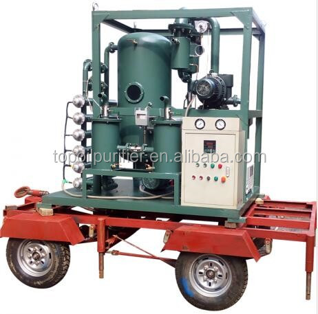 Series ZY-S Mobile Oil Filter Unit with Competitive Prices to Improve the Oil Quality