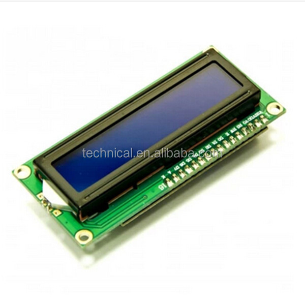 Small LCD Display LCD1602 Blue Screen Backlight LCD