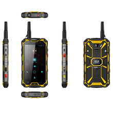 outdoor military grade rugged phone ptt mobile phone with walkie talkie 5.5 inch 4g waterproof phone