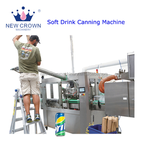 Big discount good quality Carbonated beverage beer can filling machine direct sale