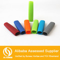 2014 new design oval shape remove heat resistant silicone rubber grip cover
