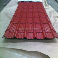 competitive price corrugated sheet metal roofing