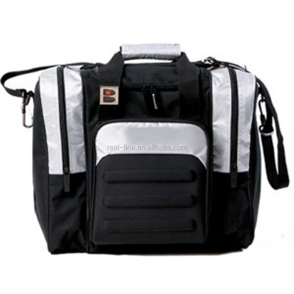 600d fabric Single Tote Bowling bag