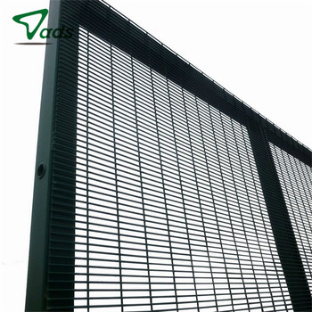 cheap welded security 358 fence anti climb fence 358 security fence panel