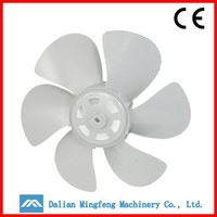 precision plastic fan blade