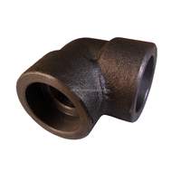 F12 F22 F347H stainless steel 90/45 degree elbow 3000lbs forged socket welding ASME B16.11