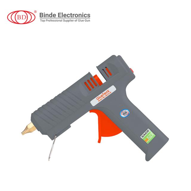 China supplier high quality hot melt glue gun popular changeable nozzle glue gun for Wood Paper Artware
