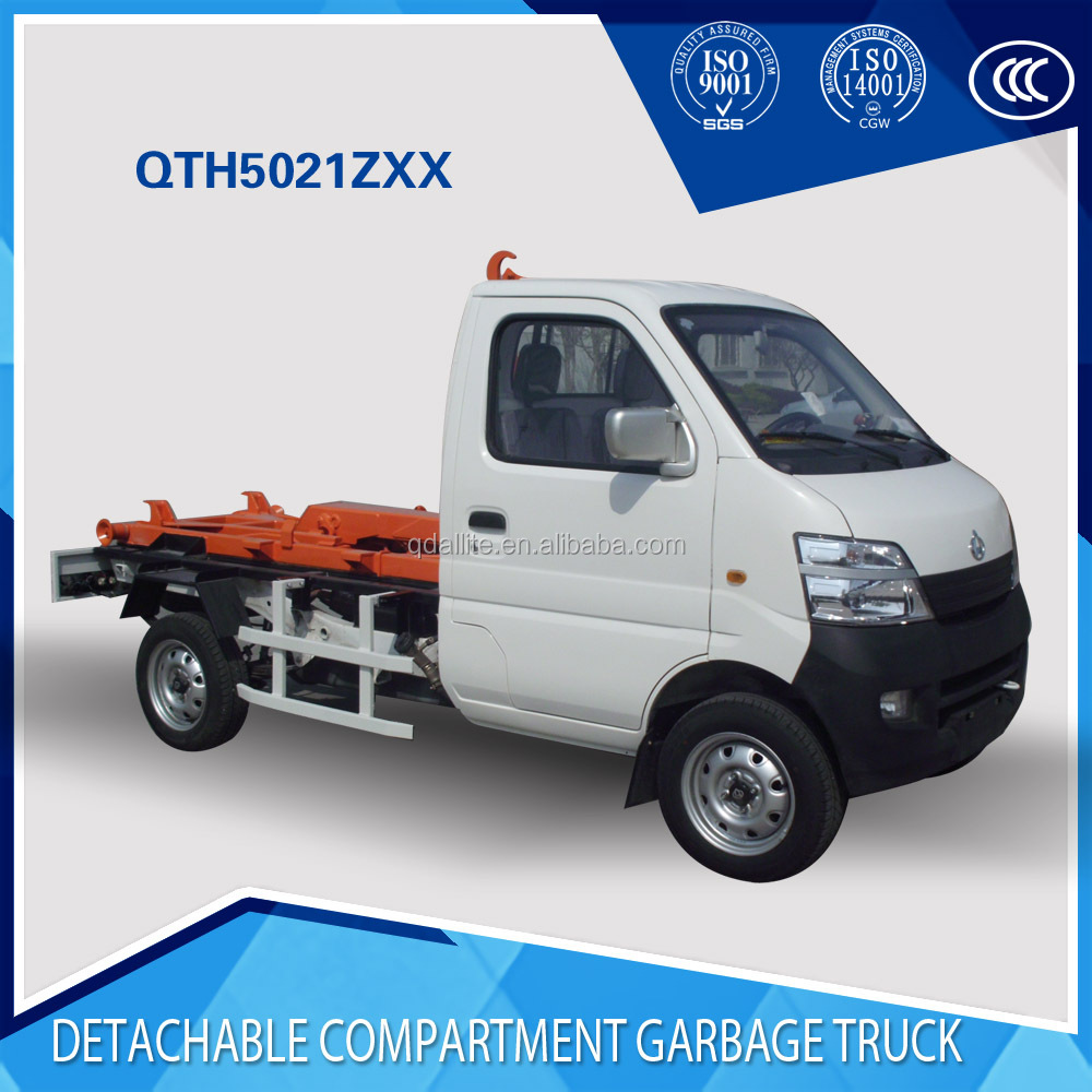 hook lift garbage truck for sale