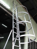 Alum. Water Tank Ladder (Safety Cage)