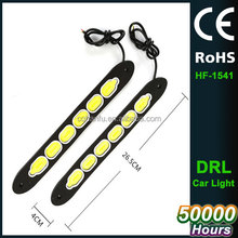 Fashion Design Star Style Universal Car Auto Truck COB LED Daytime Running DRL Light Flexible Fog Lamp Strip DIY Decoration