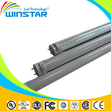 2015 Hottest Sale Clear frosted cover warm nature cool white Fluorescent T8 Led Tube Manufacturers
