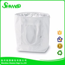 promotional cheap nonwoven insulated cooler bag for delivery food