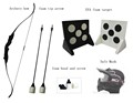 archery game tag equipment bow and foam tip arrow sets