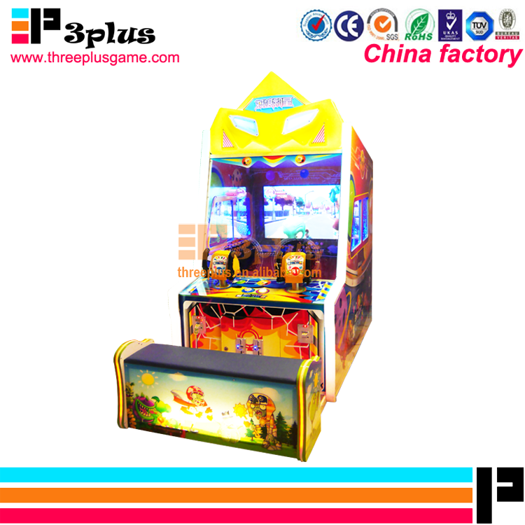 New arrival amusement coin operated lottery ticket video game arcade shooting game machine