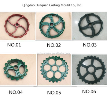 Agriculture casting wheel