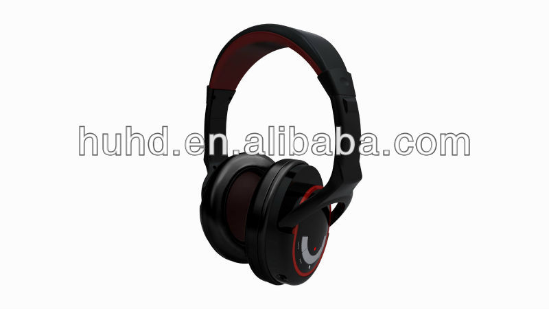 2.4G wireless gaming headset built-in microsoft approved non-drive USB sound card