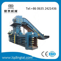 Horizontal Hydraulic clothing Baler Machine For Baling Waste Cotton&paper
